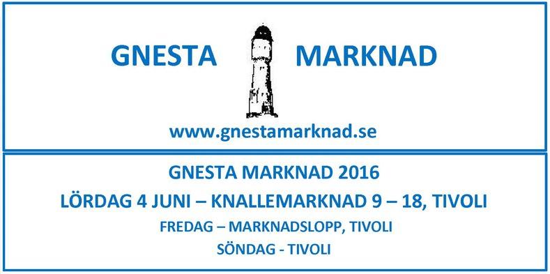 Gnesta marknad 2016